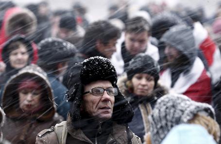 Жители Минска.