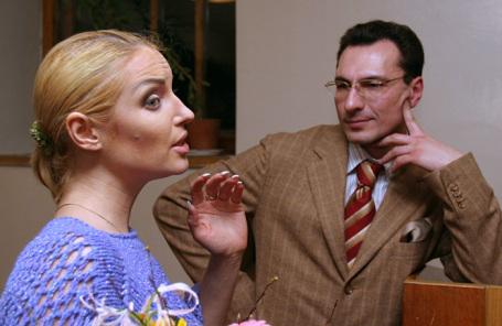 Анастасия Волочкова и Игорь Вдовин.