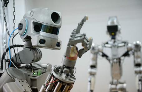 Робот-спасатель «Федор».