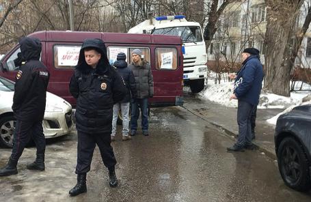 Митинг в Останкинском районе, 5 марта 2019 года.