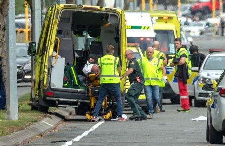 Стрельба вмечетях в новейшей  Зеландии