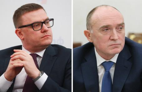 Алексей Текслер (слева). Борис Дубровский.