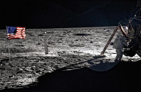 Экспедиция на Луну. Июль, 1969 года.