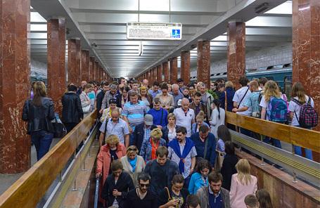 Станция «Каховская».