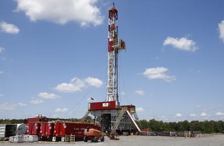 Добыча сланцевой нефти в Техасе, США.