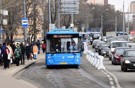 Работа компенсационных автобусов на станции метро «Текстильщики» на период закрытия участка Таганско-Краснопресненской линии метро.