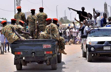 Ситуация в Хартуме, Судан.