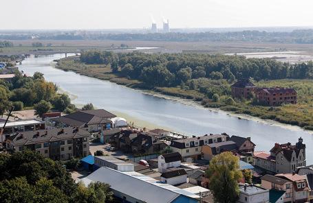 Остров Октябрьский в Калининграде.