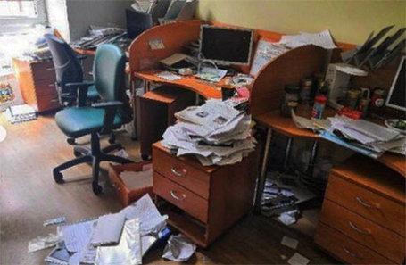 Обыск в московском офисе «Росбалта».