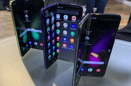 Смартфоны Samsung Galaxy Fold.