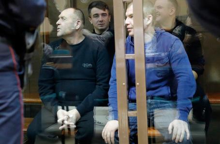 Украинские моряки, задержанные в Керченском проливе.