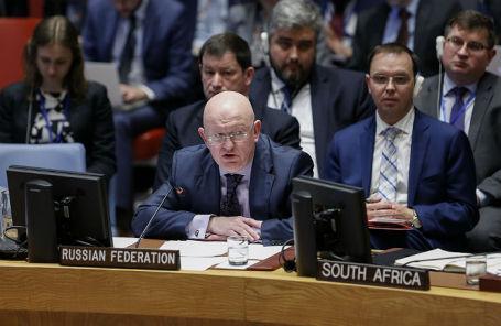 Постоянный представитель России при ООН Василий Небензя.