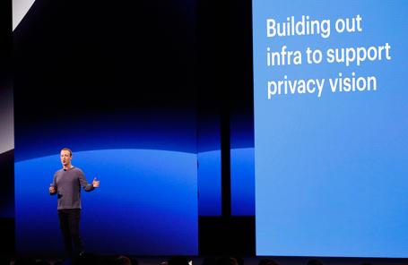 Марк Цукерберг конференции для разработчиков F8.