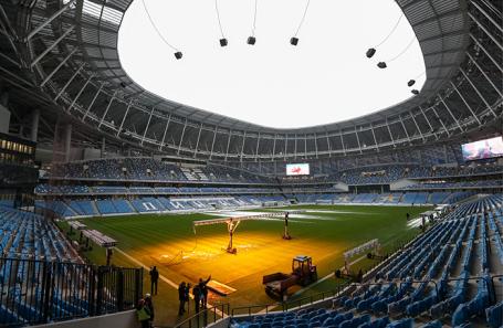 Стадион «ВТБ Арена — Центральный стадион «Динамо» имени Льва Яшина» в Москве.