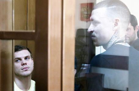 Александр Кокорин, Павел Мамаев (слева направо).