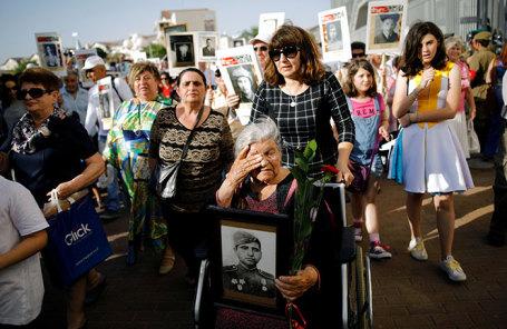 Празднование Дня Победы в Ашдоде, Израиль.