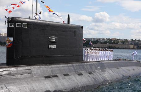Дизель-электрическая подводная лодка «Краснодар».