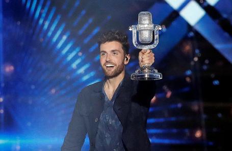 Победитель конкурса «Евровидение-2019» участник от Нидерландов Дункан Лоуренс.