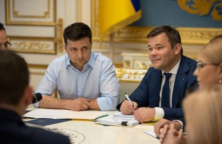 Владимир Зеленский и Андрей Богдан.