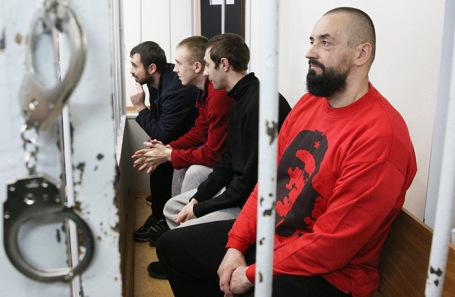 Украинские мряки задержанные в Керченском проливе. Апрель, 2019 года.