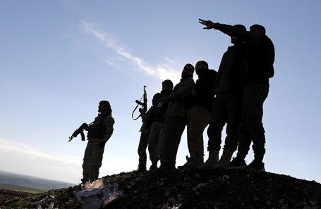 Сирийские повстанцы. Архив.