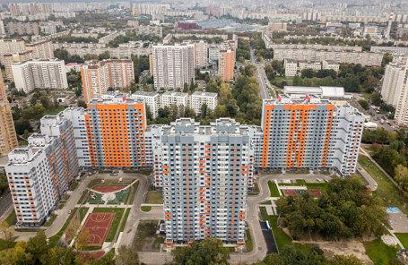 Дома, построенные для программы реновации в Москве.