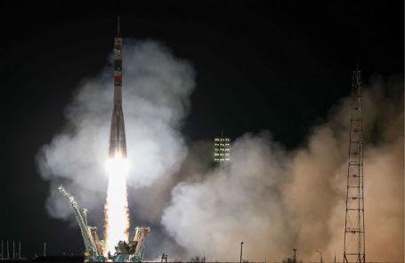 Запуск ракеты-носителя «Союз-ФГ».