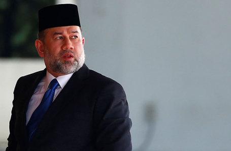 Король Малайзии Мухаммад V.