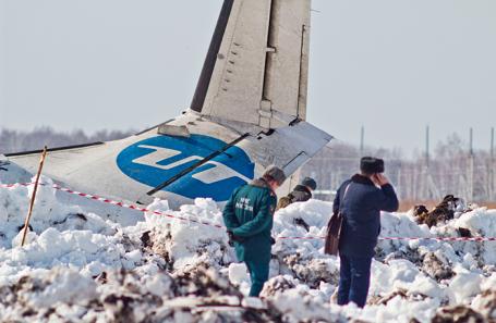 Крушение самолета ATR-72 авиакомпании «ЮТэйр» под Тюменью, 2 февраля 2012 года.
