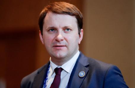 Максим Орешкин.