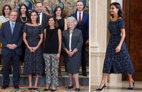 Королева Испании Летисия.