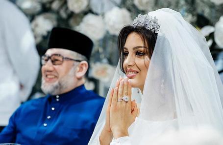 Мухаммад V и Оксана Воеводина.