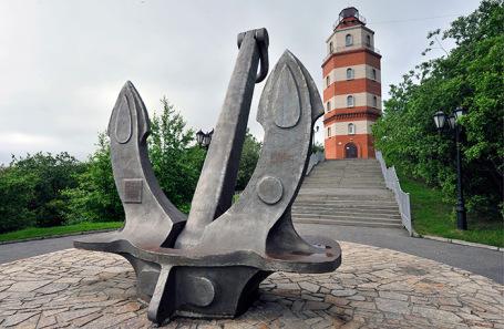 Мемориал морякам погибшим в мирное время. Мурманск.