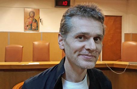 Александр Винник, арестованный в Греции по запросу США.