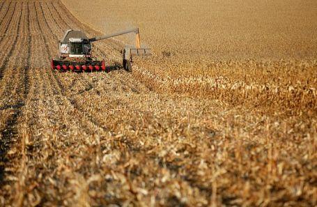 Уборка урожая в Ставропольском крае.