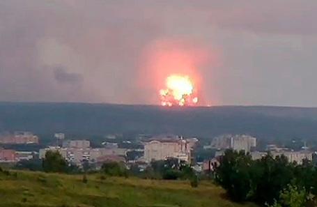 Взрыв на территории воинской части, расположенной в Ачинском районе Красноярского края.