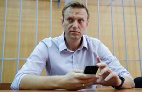 Учредитель ФБК Алексей Навальный.