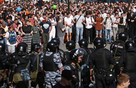 Милиция  столицы  предостерегла от«несанкционированных акций нацентральных дорогах  города» 10августа