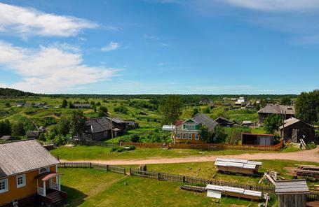 Село Ненокса.