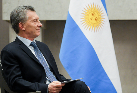 Президент Аргентины Маурисио Макри.