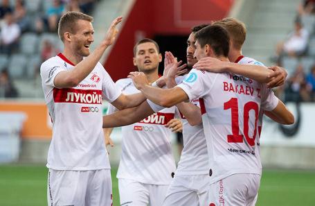 Футболисты «Спартака».