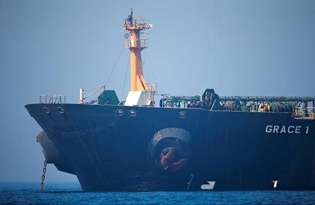 США движутся, чтобы захватить иранский танкер вГибралтаре