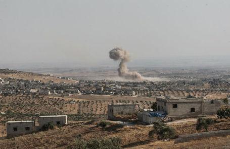Ситуация в провинции Идлиб на северо-западе Сирии.