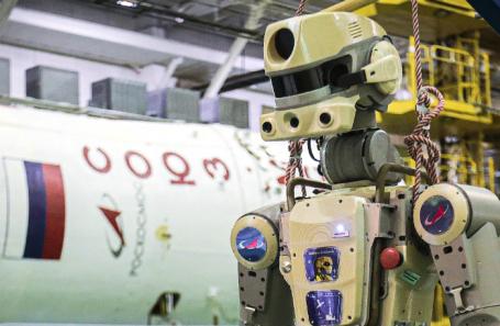 Антропоморфный робот «Федор» (Skybot F-850).
