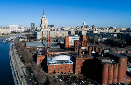 Исторические корпуса бывшего Бадаевского пивоваренного завода.
