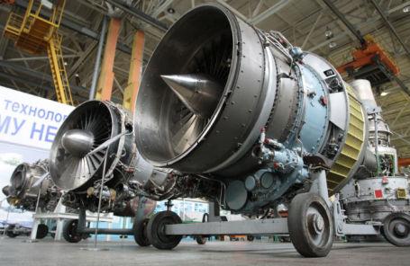 Производство авиационных двигателей на заводе «Мотор Сич» в Запорожье.