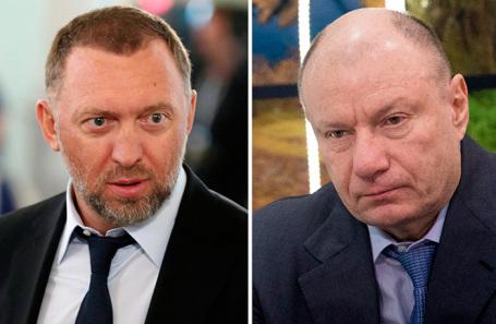 Олег Дерипаска и Владимир Потанин.