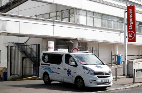 Госпиталь имени Жоржа Помпиду в Париже.