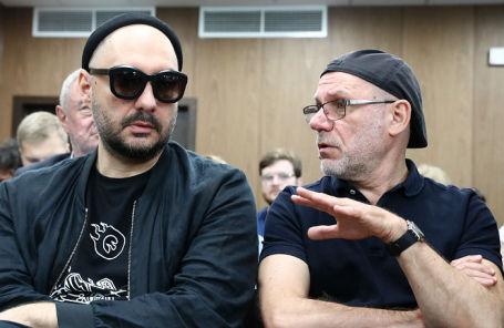 Режиссер Кирилл Серебренников и бывший генеральный продюсер компании «Седьмая студия» Алексей Малобродский.