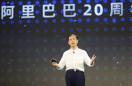Глава Alibaba Дэниэл Чжан.